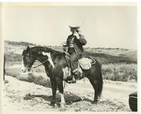 Los Angeles County Sheriff Mounted Posse officer
