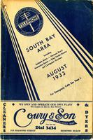 South Bay Area August 1933