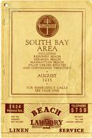 South Bay Area August 1935