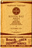 South Bay Area October 1938