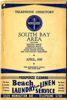 South Bay Area April 1939