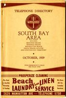 South Bay Area October 1939