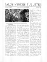 Palos Verdes Bulletin, January 1933. Volume 8. Number 4
