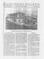 Palos Verdes Bulletin, May-June 1933. Volume 8. Number 8
