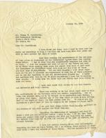 Letter from E.G. Lewis to Thomas Fauntleroy, January 10, 1924