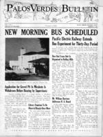 Palos Verdes Bulletin, 13 March 1941. Volume 1. Number 4