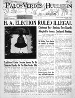 Palos Verdes Bulletin, 10  April 1941. Volume 1. Number 6