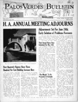 Palos Verdes Bulletin, 24  April 1941. Volume 1. Number 7