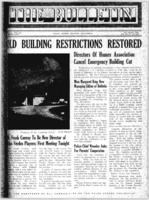 The Bulletin, 10 October 1941. Volume 1. Number 19