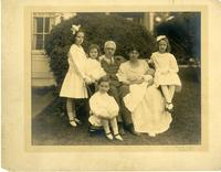 Frank A. Vanderlip family portrait