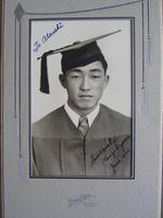 Kenzo Uyeno graduation photo