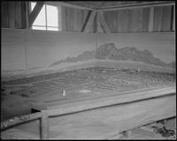 """Poston, Arizona. New Year's Fair. Model of Camp 2 prepared for agricultural...""..."
