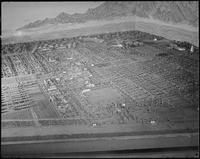 """Poston, Arizona. New Year's Fair. Model of camp 2 prepared for agricultural..."