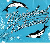 Marineland Restaurant menu and postcard