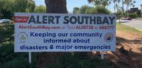 """Alert SouthBay Opt-in"" sign"