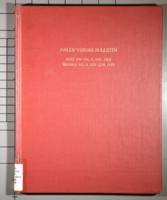 Palos Verdes Bulletin Index for Vol 1, Nov. 1924 through Vol. 8, May-June 1933...