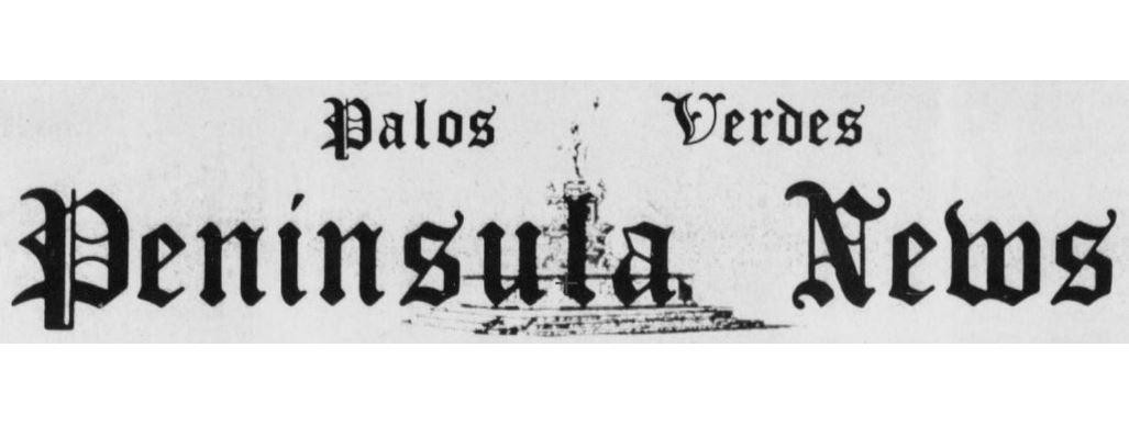 Palos Verdes Peninsula News (1937-1967)